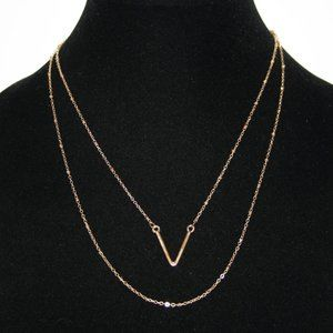 Beautiful gold layered necklace